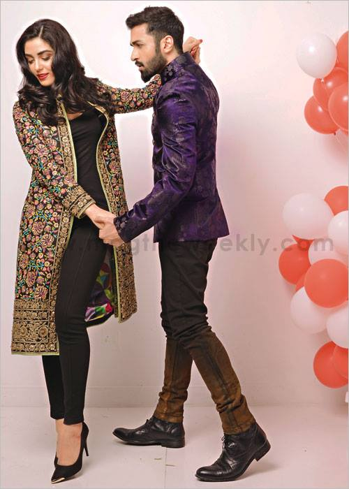 azfar rehman and maya ali photoshoot