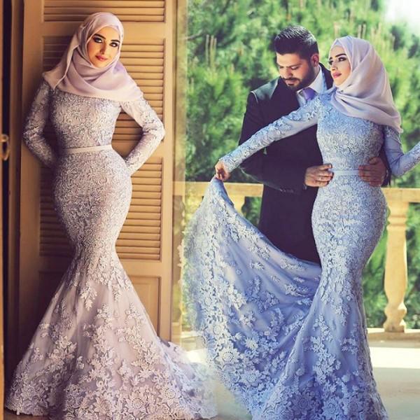 bridal abaya dresses