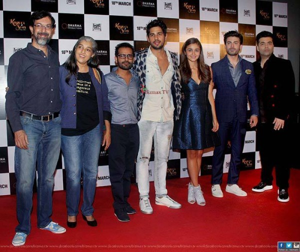 kapoor and sons trailer launch
