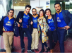 pakistani Pakistani Celebrities in Dubai to support Karachi kings