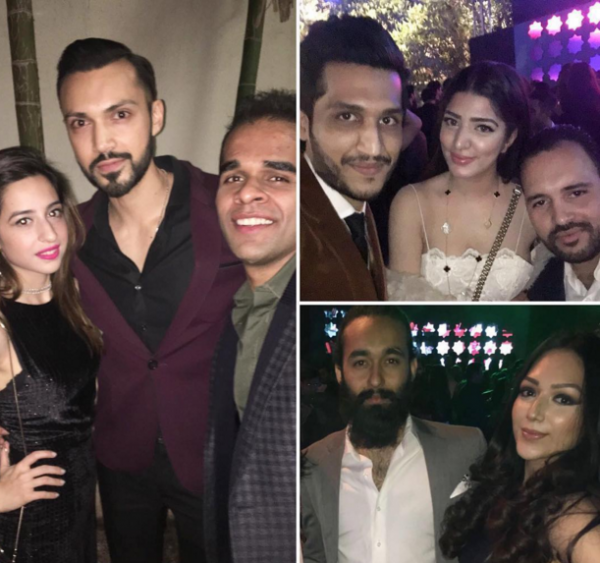 pakistani celebrities party