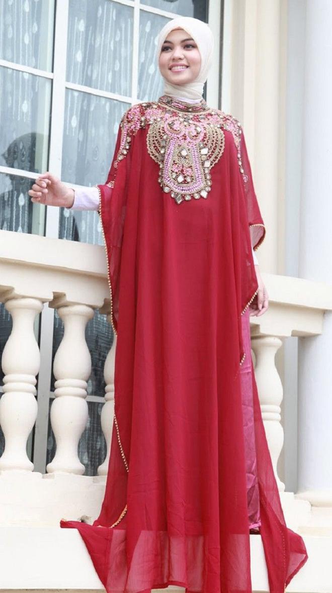 Abaya Wedding Dress 8 Amazing red abaya