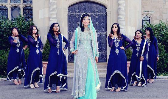 wedding bridesmaid dresses ideas. sky