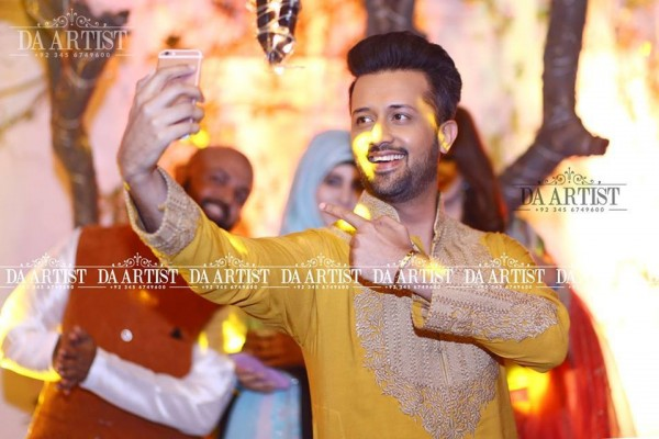 Atif Aslam At A Family Wedding