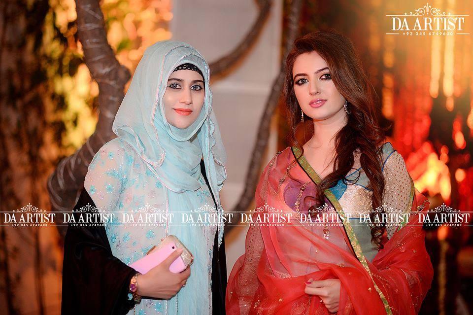 Atif Aslam Wife At A Family Wedding