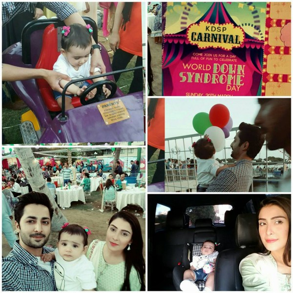 See Ayeza Khan and Danish Taimoor having fun with their daughter