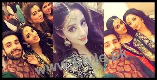 See Celebrities at Actor Wahaj Ali's Mehndi