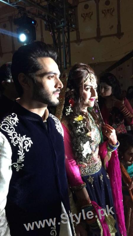 Celebrities at Actor Wahaj Ali's Mehndi (6)