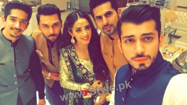 Celebrities at Actor Wahaj Ali's Mehndi (7)