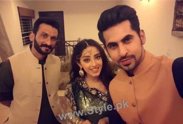 Celebrities at Actor Wahaj Ali's Mehndi (8)