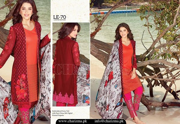 Charizma Lawn Dresses 2016 Volume 1 For Women001