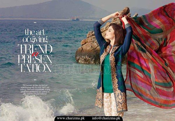 Charizma Lawn Dresses 2016 Volume 1 For Women0015