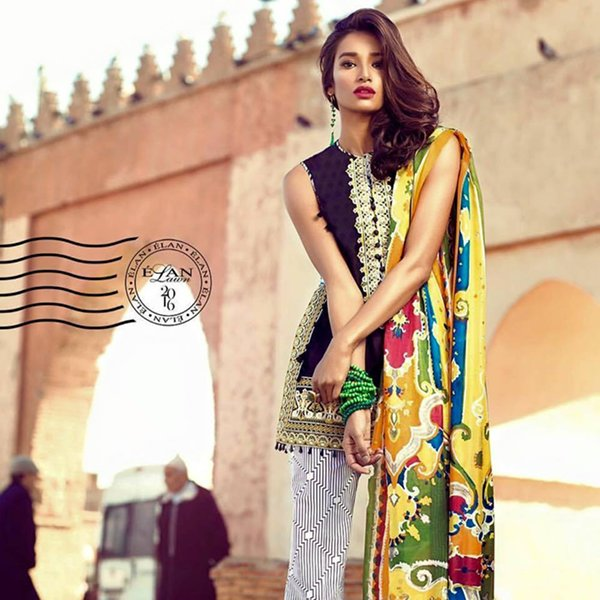 Elan Lawn Dresses 2016 For Women
