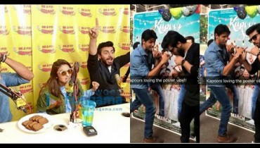 See Fawad Khan, Alia Butt and Sidharth Malhotra having fun during promotion of Kapoor and SonsFawad Khan, Alia Butt and Sidharth Malhotra having fun during promotion of Kapoor and Sons