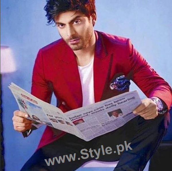 Fawad Khan looks Hot on the Cover of Magazine The Man (2)