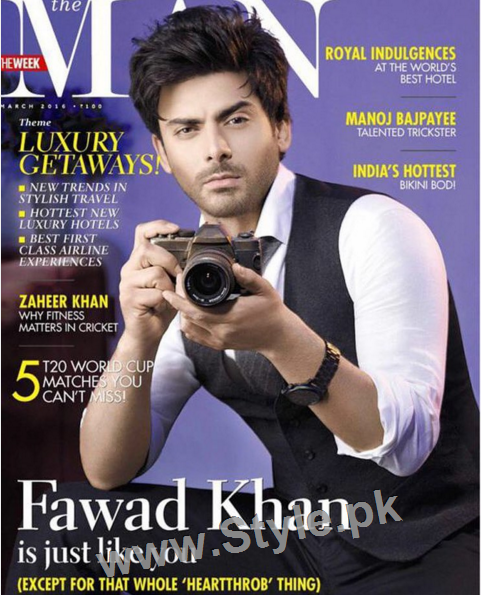 Fawad Khan looks Hot on the Cover of Magazine The Man (4)
