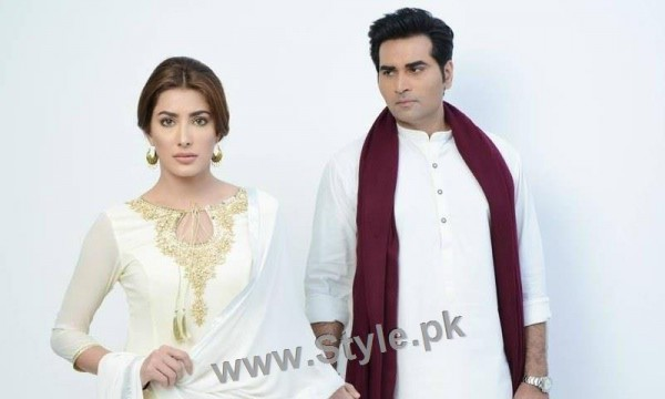 See Finally Humayun Saeed is back to TV with Mehwish Hayat in Dil Lagi
