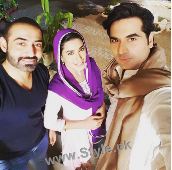 Finally Humayun Saeed is back to TV with Mehwish Hayat in Dil Lagi (2)