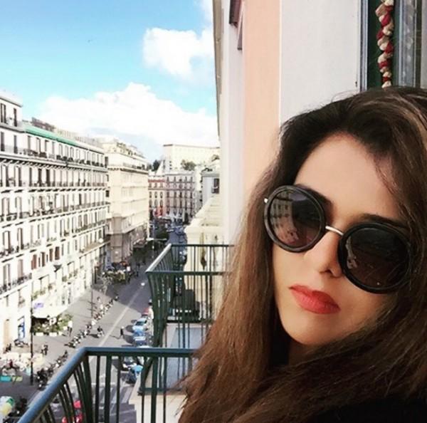 Maria Wasti In Italy