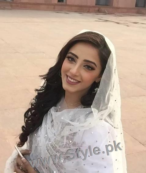 Maya Ali and Sanam Chauhdry at Nikkah Ceremony of Actor Wahaj Ali (3)