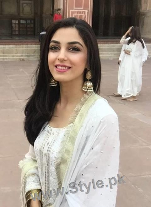 Maya Ali and Sanam Chauhdry at Nikkah Ceremony of Actor Wahaj Ali (6)