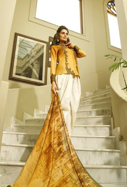 Nilofer Shahid By Ittehad Textiles Lawn Dresses 2016 For Women004