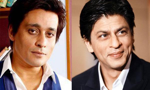 Sahir Lodhi and Shahrukh Khan