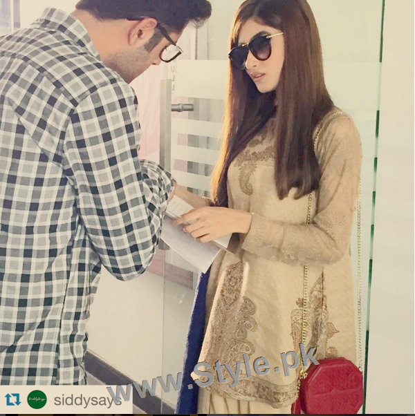 Pictures of Sajjal Ali and Feroze Khan from their debut film Zindagi Kitni Haseen Hai (7)