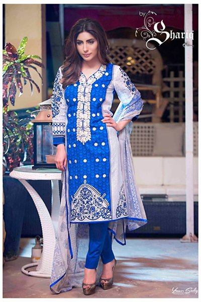Rabea Spring Collection 2016 By Shariq Textiles For Women008