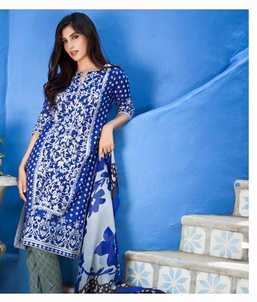 Shariq Textiles Mahnoor Summer Dresses 2016 For Women002