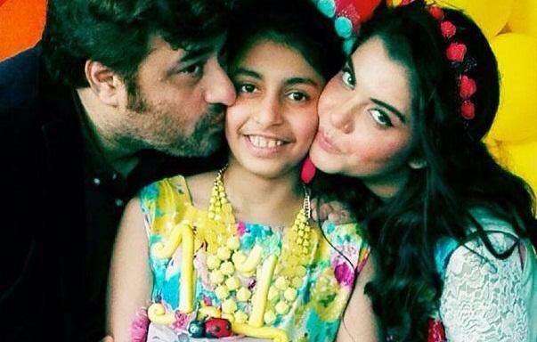 Nida Yasir And Yasir Nawaz S Daughter Birthday Pictures