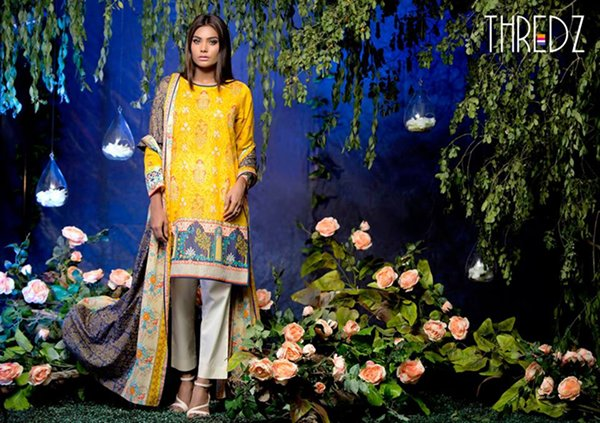 Thredz Lawn Dresses 2016 For Women0010