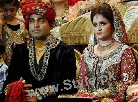 Wedding pictures of Pakistani Cricketers (14)