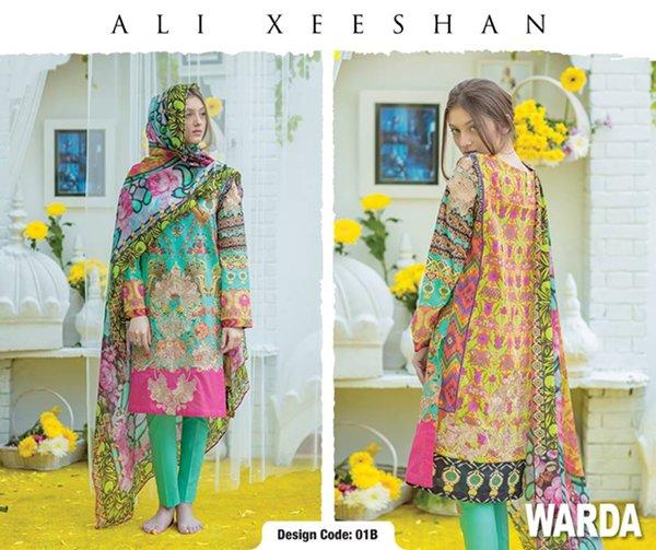 Ali Xeeshan Summer Dresses 2016 For Women
