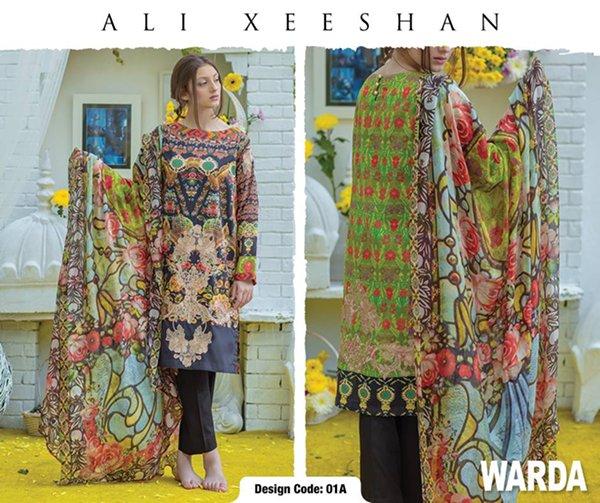 Ali Xeeshan Summer Dresses 2016 For Women001