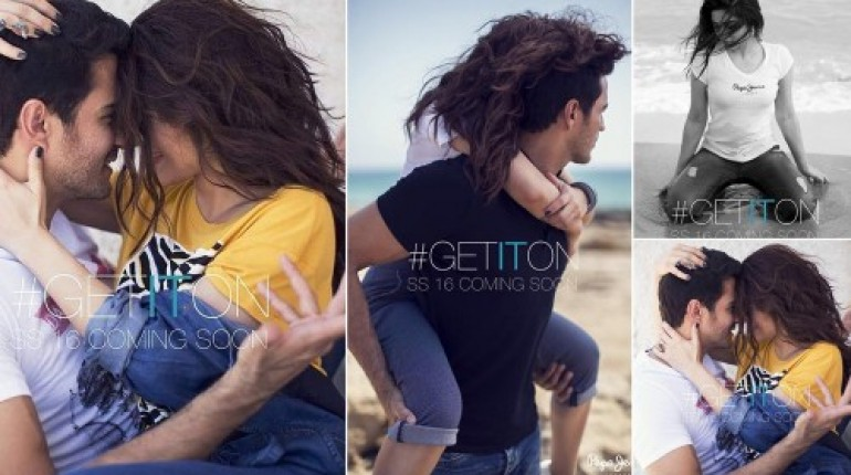 See Ayesha Omar and Sikander Rizvi's photoshoot for Pepe Jeans