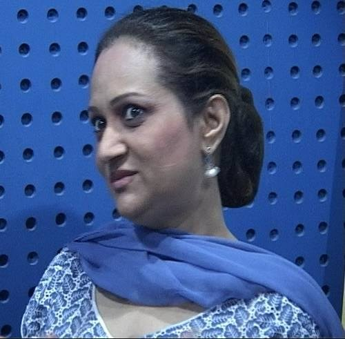 Bushra Ansari eye circles