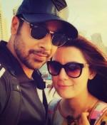 Faysal Qureshi With Wife In Dubai