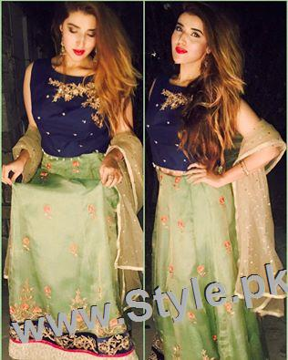 Hareem Farooq looks super hot in her new bronze blonde hair (2)