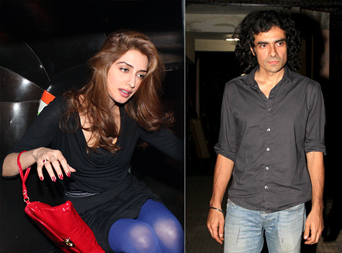 Iman Ali and Imtiaz Ali