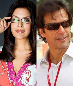 Imran Khan and Zeenat