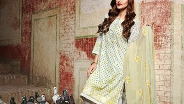 Khaadi Lawn Dresses 2016 Volume 2 For Women0016