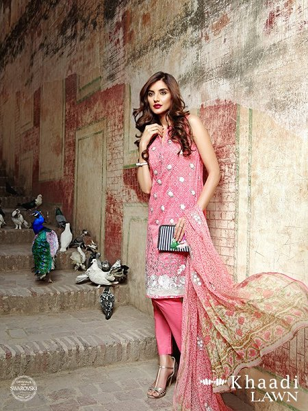 Khaadi Lawn Dresses 2016 Volume 2 For Women0017