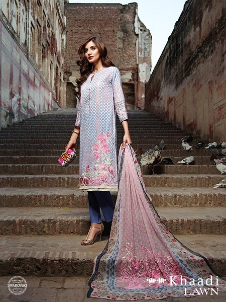 Khaadi Lawn Dresses 2016 Volume 2 For Women0018