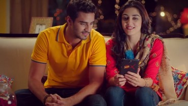 See Maya Ali and Sikander Rizvi rocked in new Jazz TVC