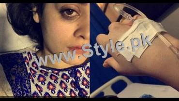 See Minal Khan is hospitalized