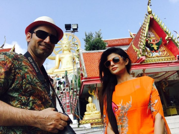 Model Sadaf Hamid In Thailand