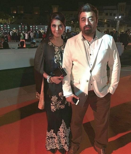 Nida Yasir at ARY Film Awards 2016