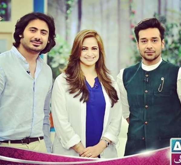 See Noor Bukhari wants to work with Faisal Qureshi
