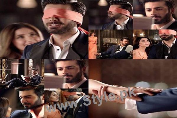 See Once again Lux TVC brings Fawad Khan close to Mahira Khan